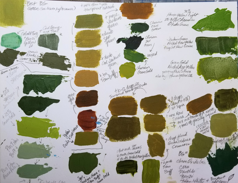 Greens Sample Sheet 1200